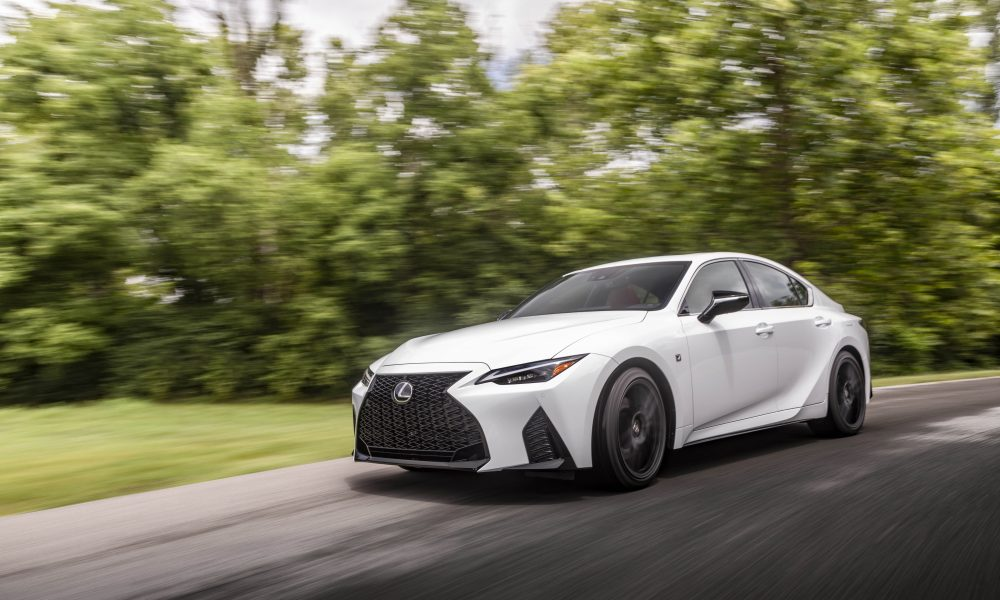 SPORTY AND SUAVE: 2021 LEXUS IS STRIKES THE PERFECT BALANCE