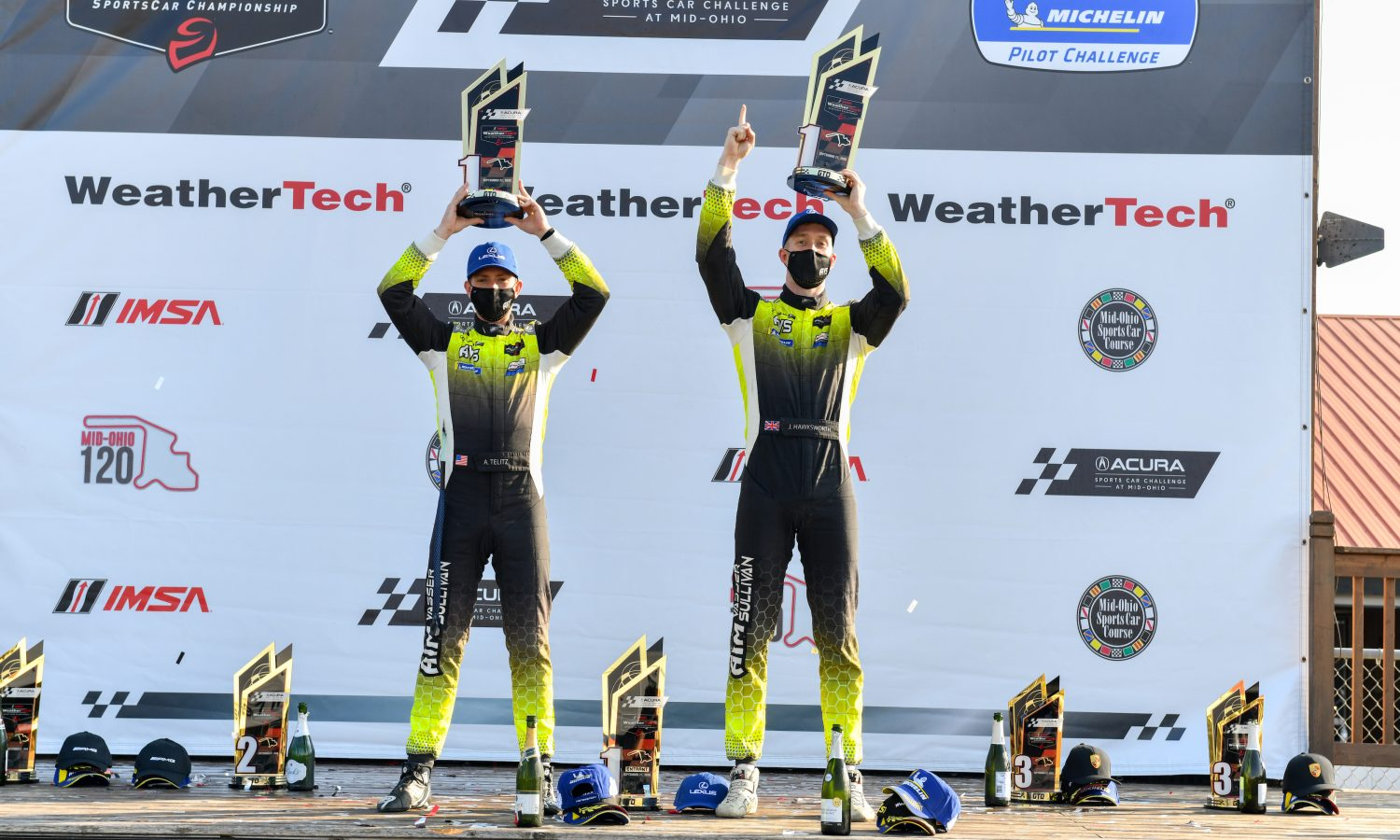 Three Wins in a Row for the Lexus RC F GT3 at Mid-Ohio
