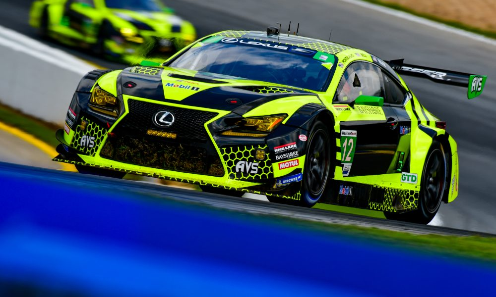 Lexus RC F GT3 Scores Top-Five Finish in Six Hours of Racing at Michelin Raceway Road Atlanta