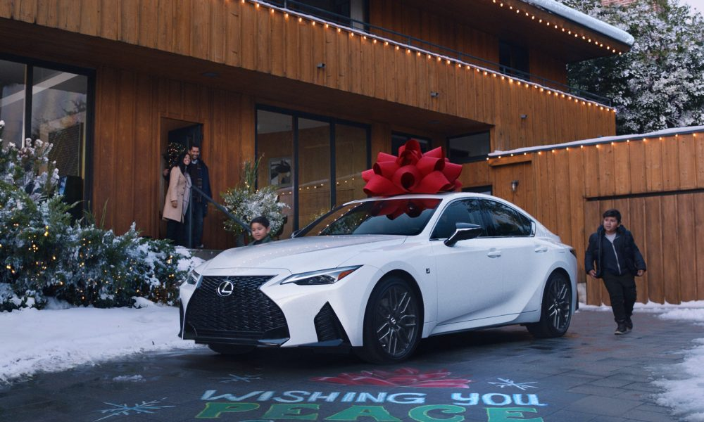 "Driveway Moments Celebrated in Lexus ""December to Remember"" Campaign"