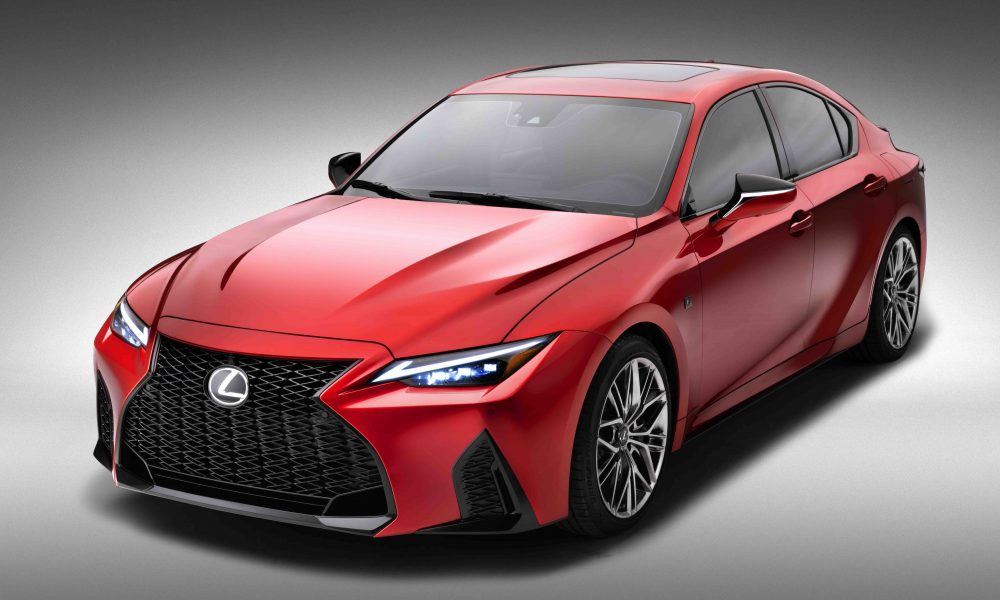 2022 LEXUS IS 500 F SPORT PERFORMANCE: THE IS SPORTS SEDAN, UNLEASHED