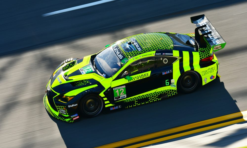 Lexus and Vasser Sullivan Persevere Through 24 Hours of Racing at Daytona