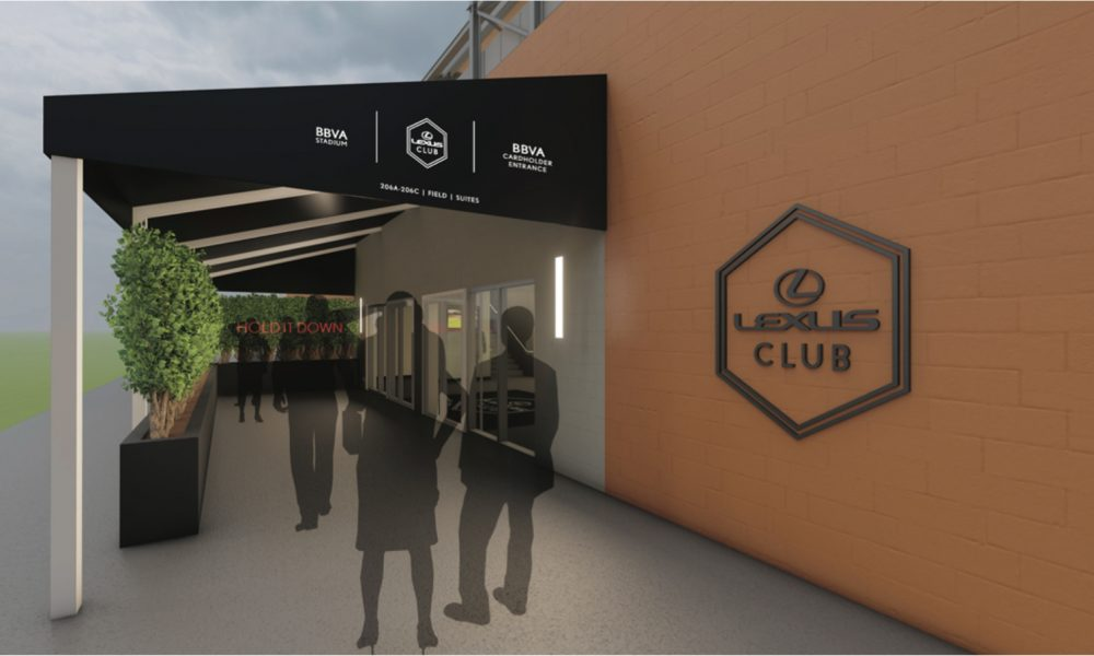 Lexus Partners with Houston Dynamo Football Club to Drive Luxury Fan Experiences at BBVA Stadium