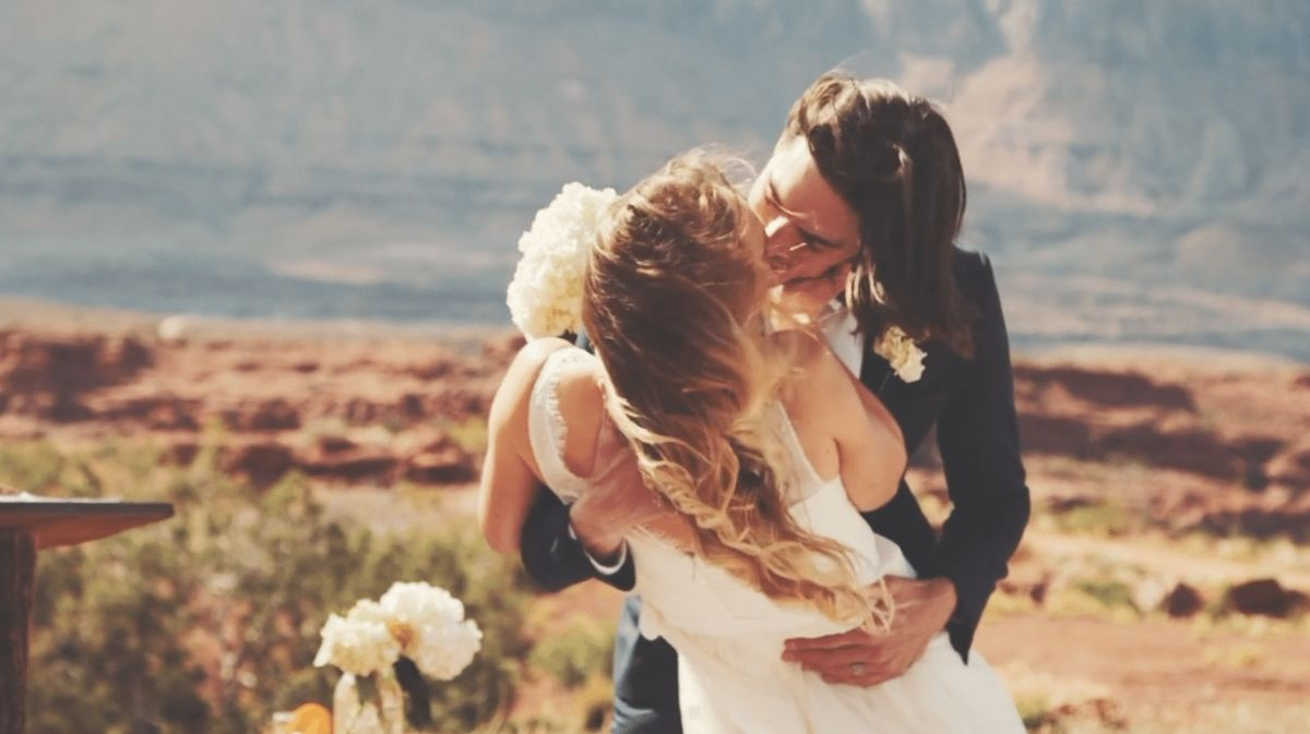 Jenny + Brett | Moab, Utah | The Red Cliffs