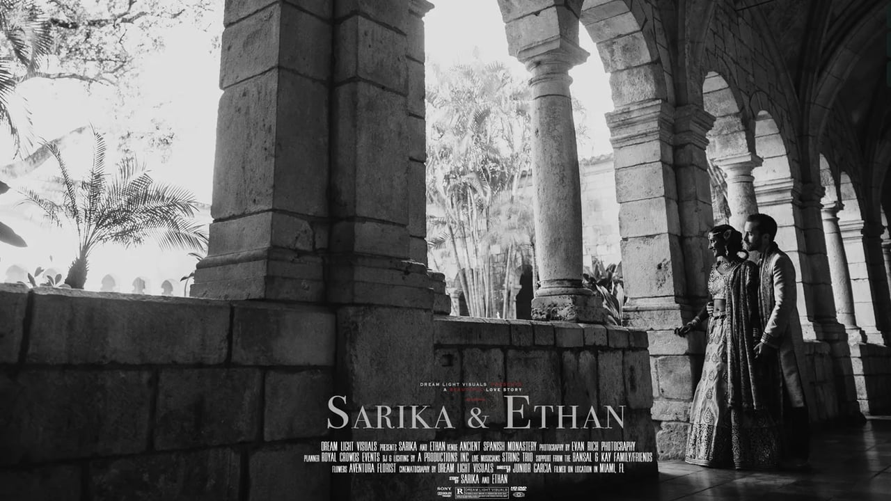 Sarika + Ethan | Miami, Florida | Ancient Spanish Monastery