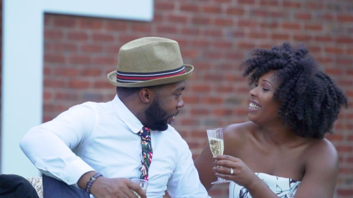 Dominique + Theo | Manassas, Virginia | Manassas Wine Festival