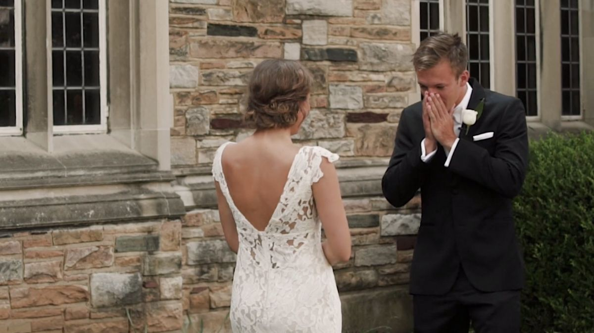 This Groom First Noticed His Future Wife In Fifth Grade