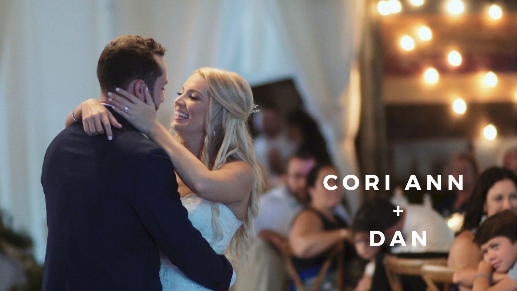 Cori Ann + Dan Sherwin | Winthrop, Maine