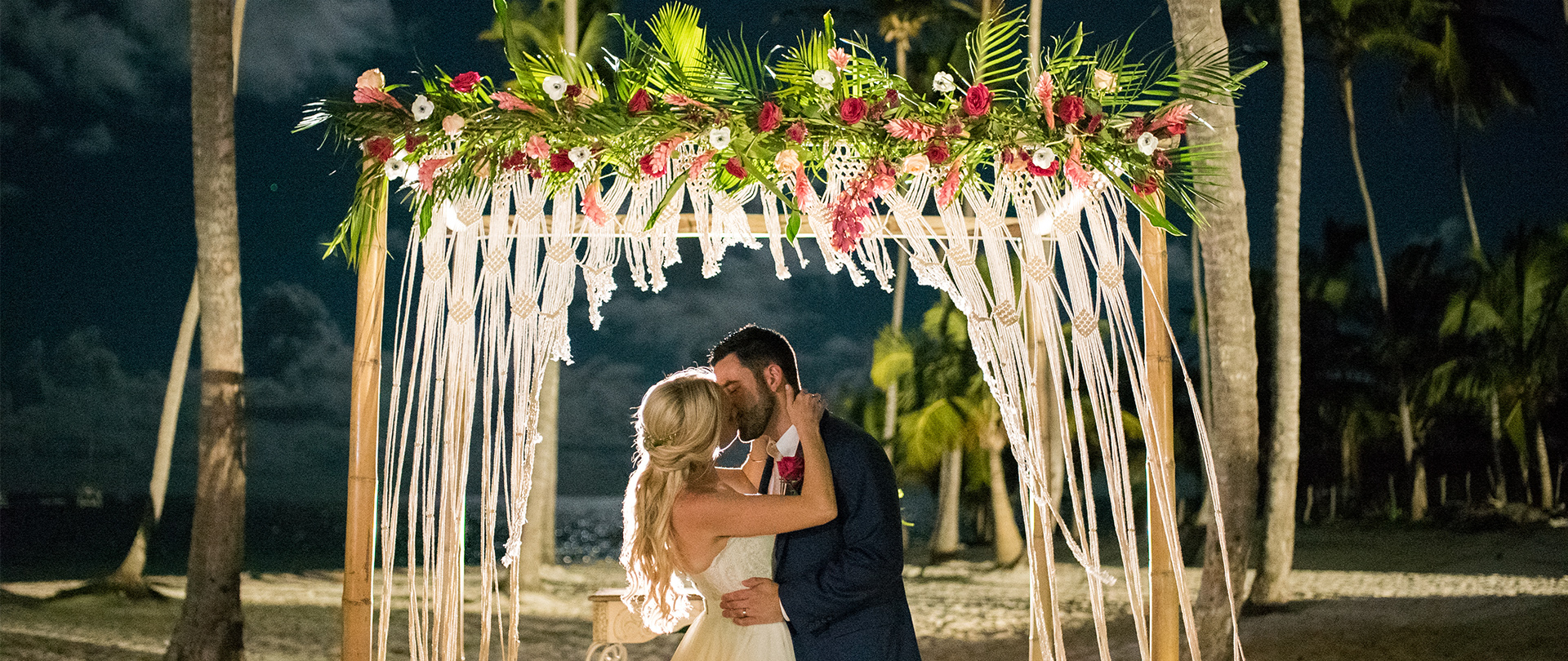 Molly + Tim | Punta Cana , Dominican Republic | Jellyfish Restaurant