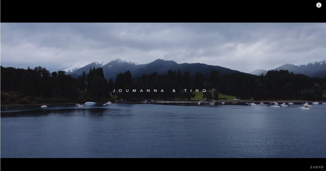 Joumanna + Tino | Villa Langostura, Argentina