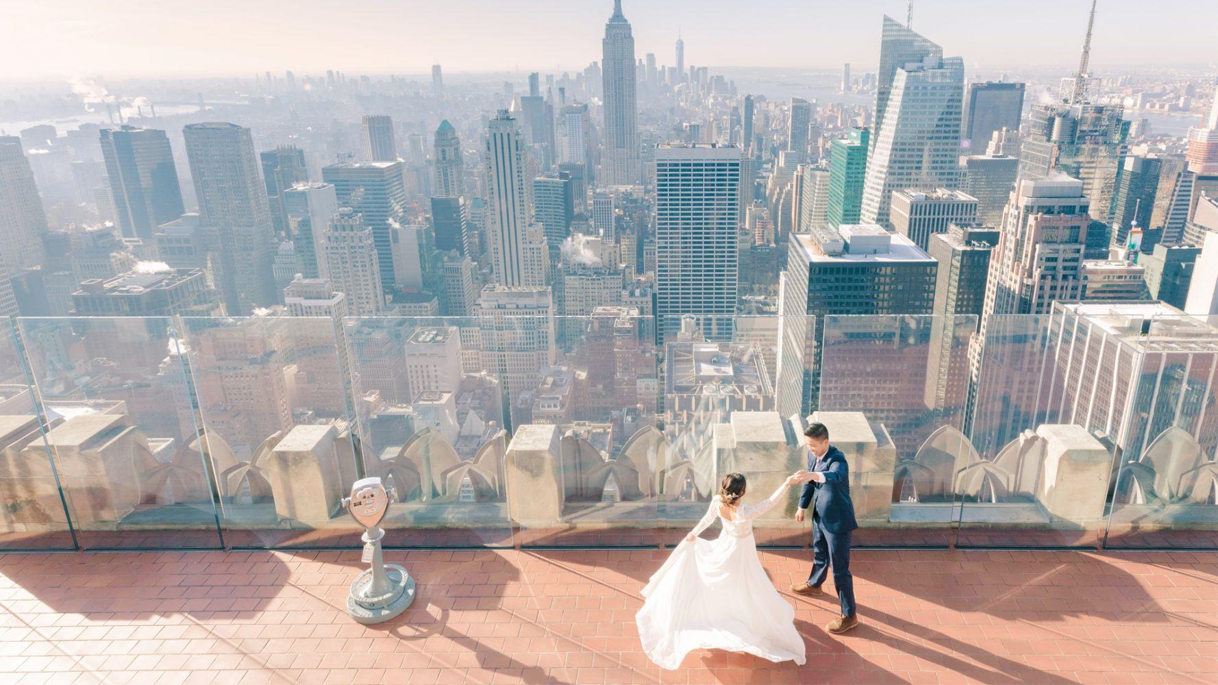Roger + Shannon | New York City , New York | Bethesda Terrace
