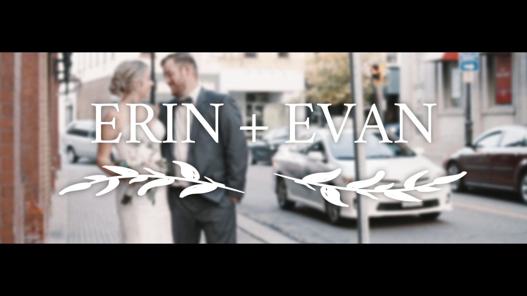Erin + Evan | Kitchener , Canada | The Walper Hotel