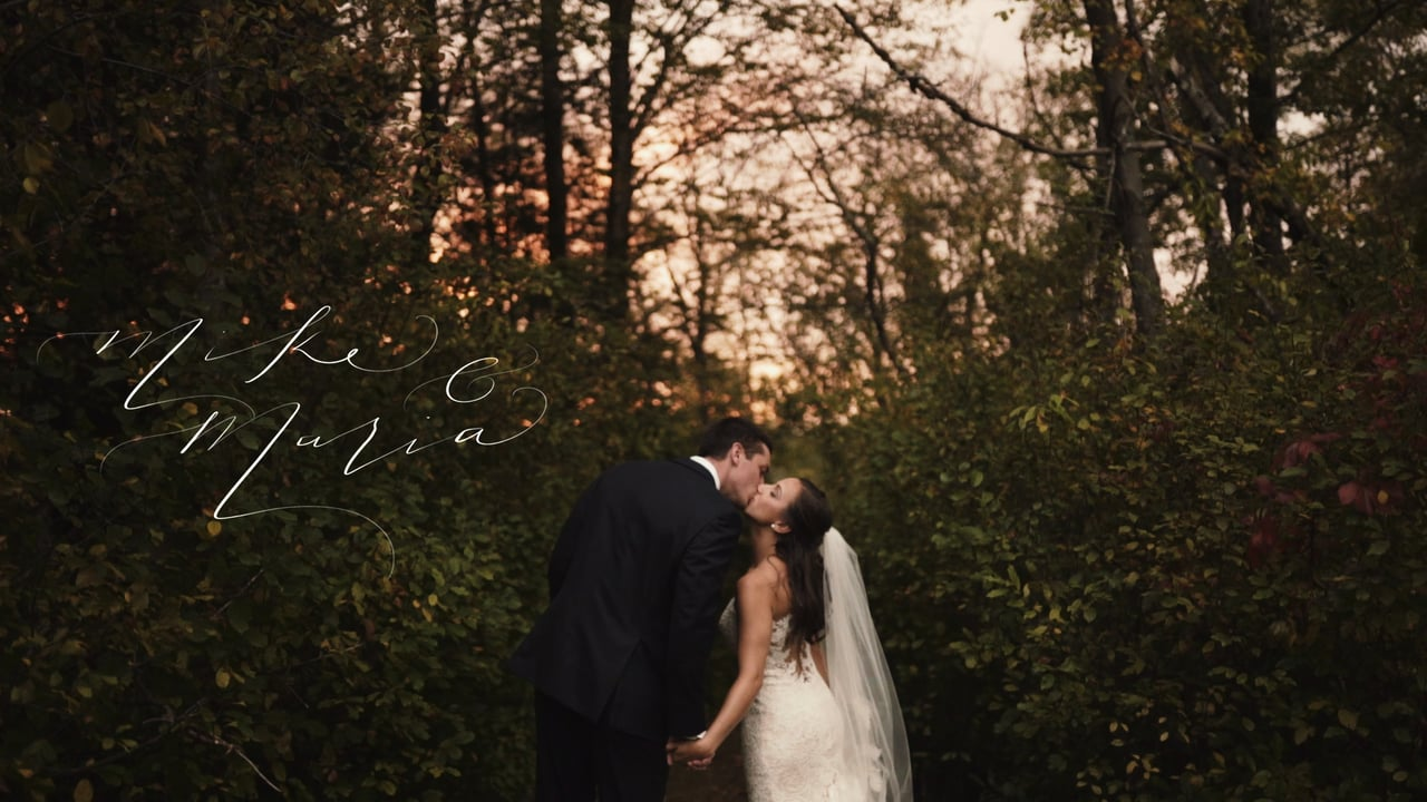 Maria + Mike |  Topsfield, Massachusetts | Willowdale Estate