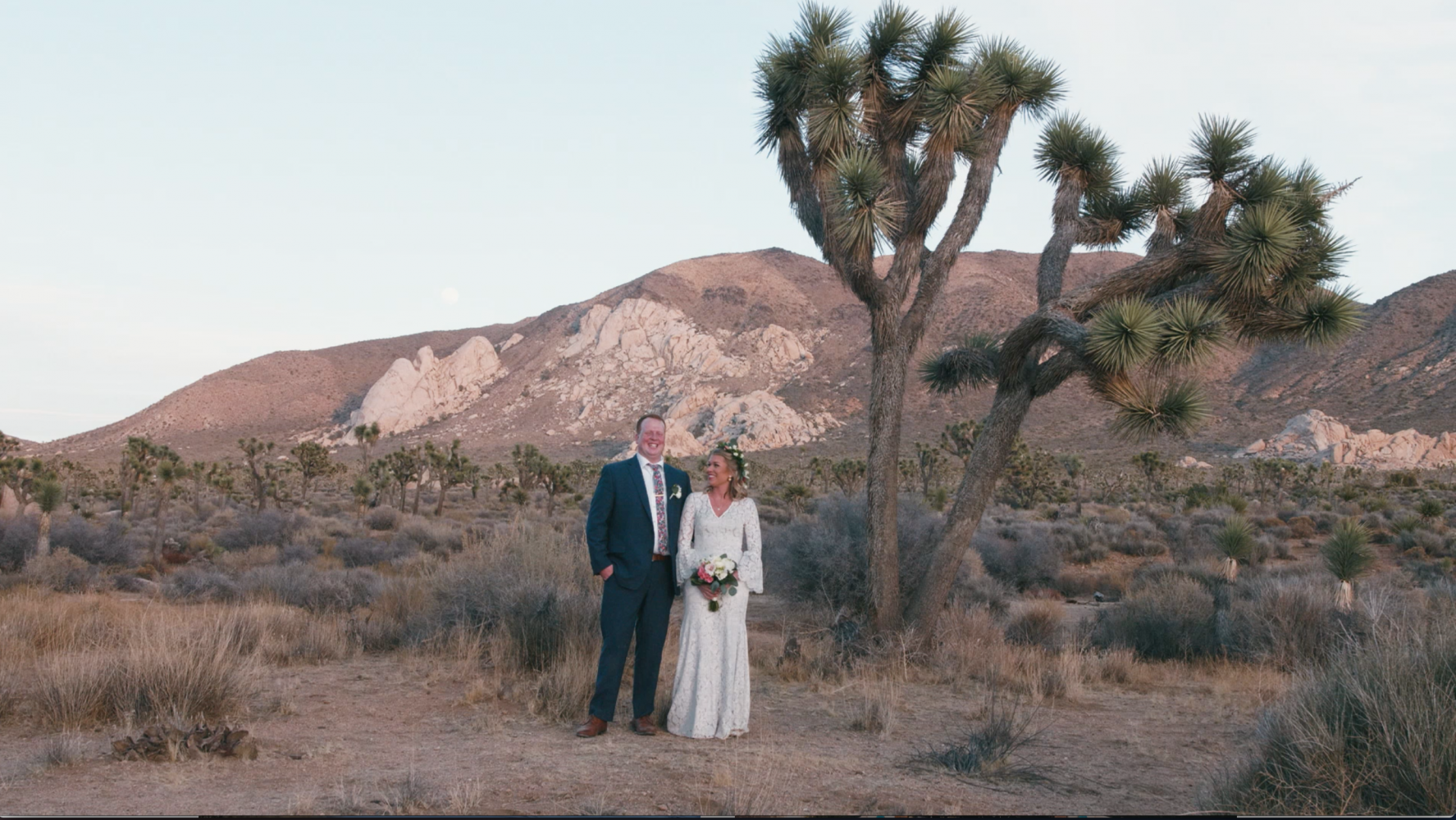 Whitney + Brandon | Joshua Tree , California | Joshua Tree National Park