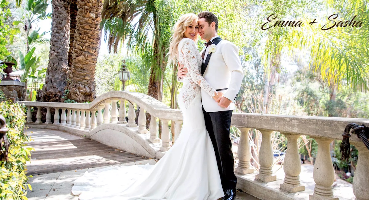 ICYMI: 'DWTS' Pros Emma Slater and Sasha Farber's Wedding Video