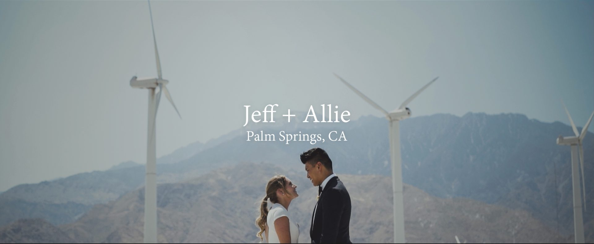 Jeff + Allie | Palm Springs, California