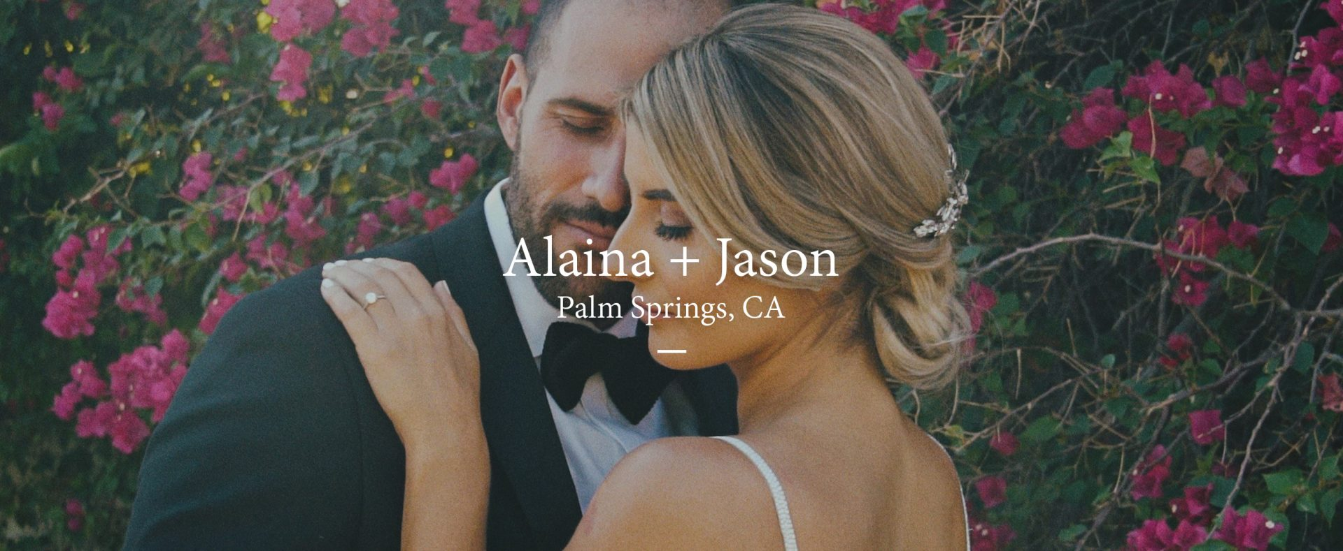 Alaina + Jason | Palm Springs, California | La Chureya Estate, Palm Springs