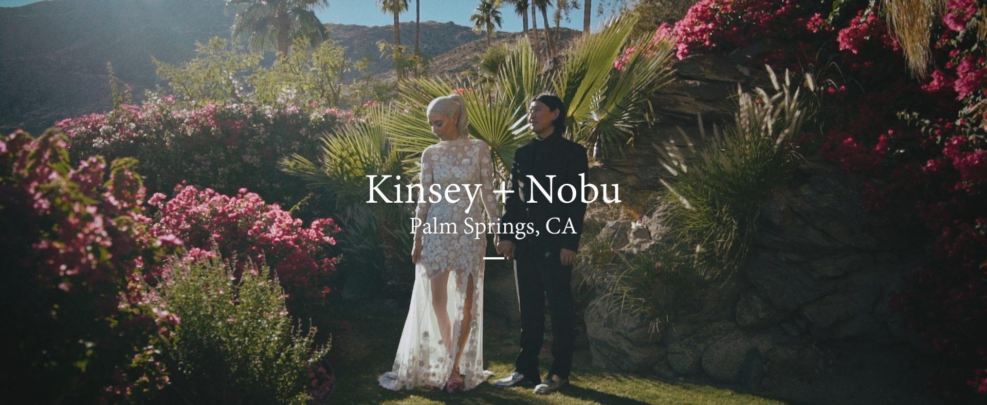 Kinsey + Nobu | Palm Springs , California | The O'Donnell House