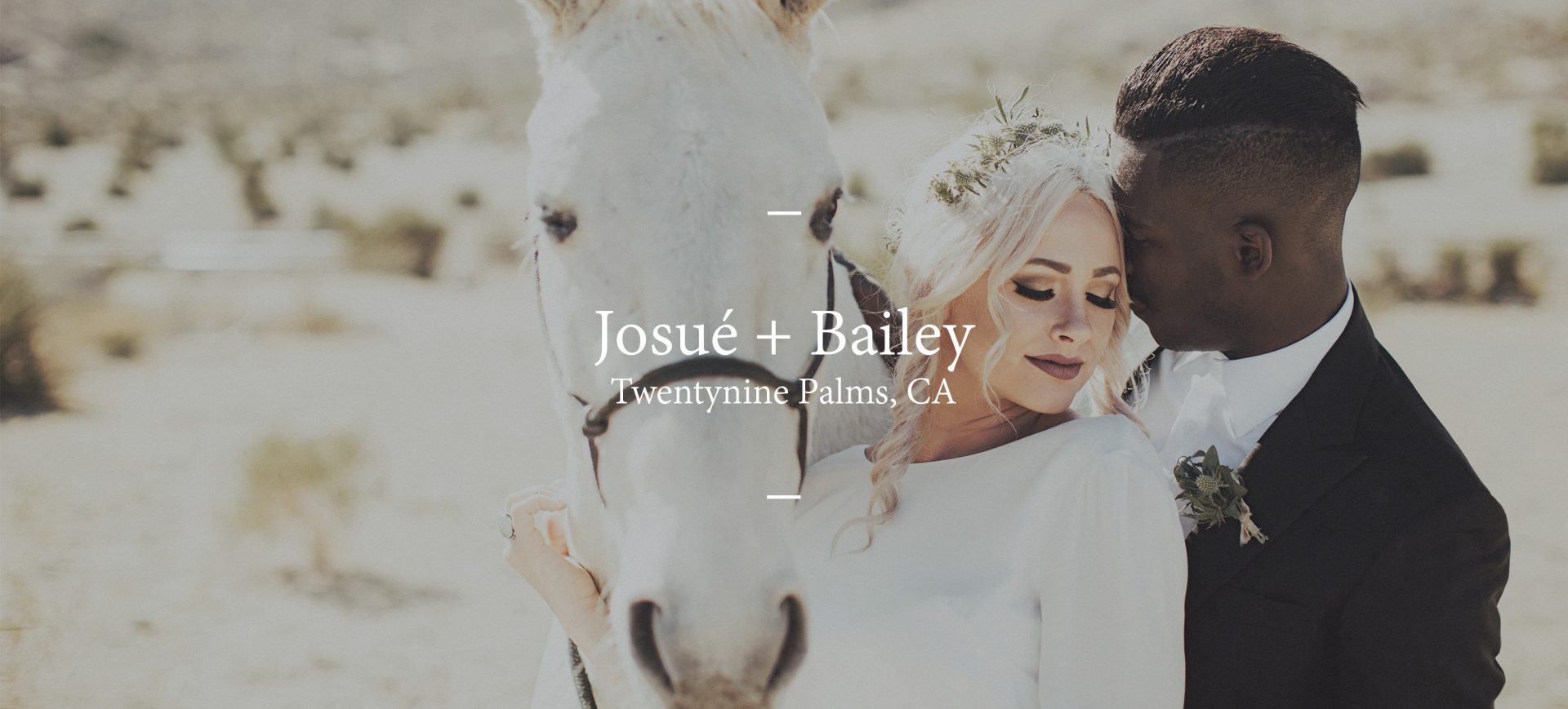Bailey + Josué | Joshua Tree, California | Rimrock Ranch