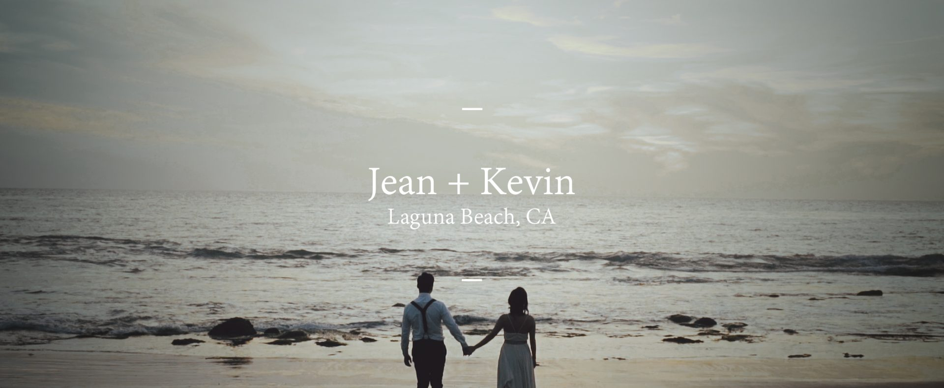 Jean + Kevin | Laguna Beach, California