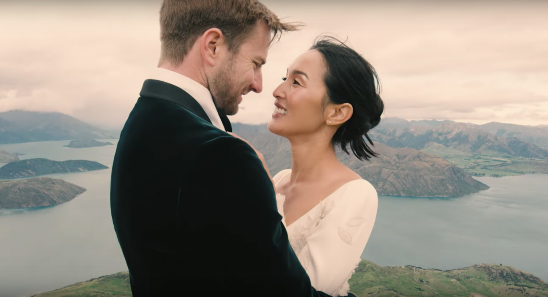 Nicole Warne of Gary Pepper Girl's Wanaka Wedding Video