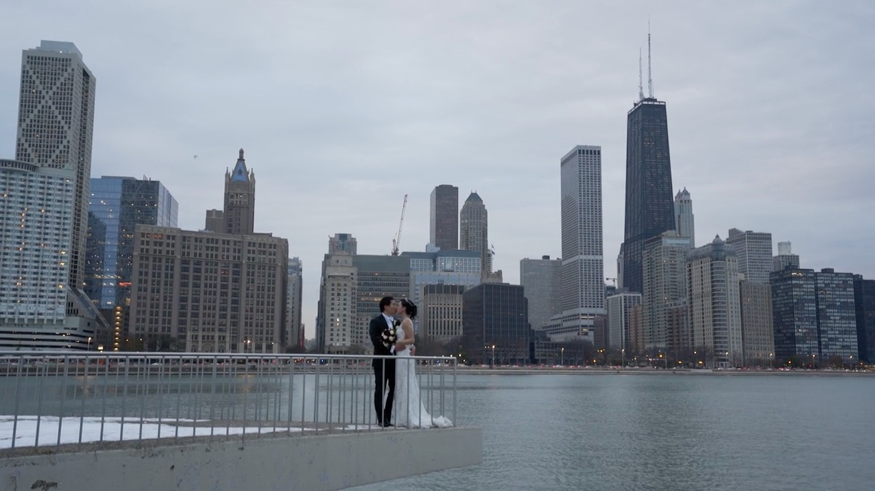 Sijie + Michael  | Chicago, Illinois | The Rookery