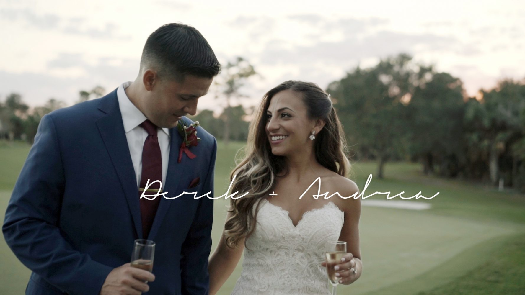 Andrea + Derek | Vero beach, Florida | Bent Pine Golf Club