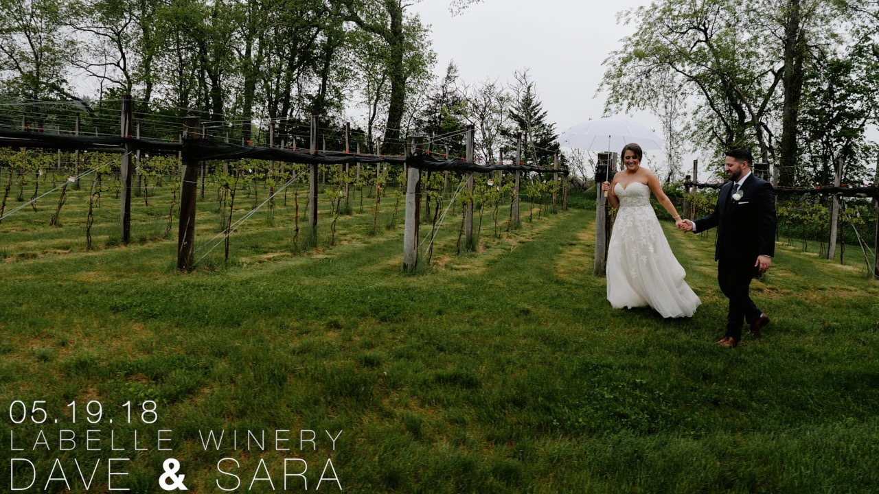 Dave + Sara | Milford, New Hampshire | Labelle Winery