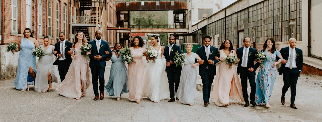 At Last, Vanessa and Anthony's Romantic, Industrial Wedding Video IS FINALLY HERE.