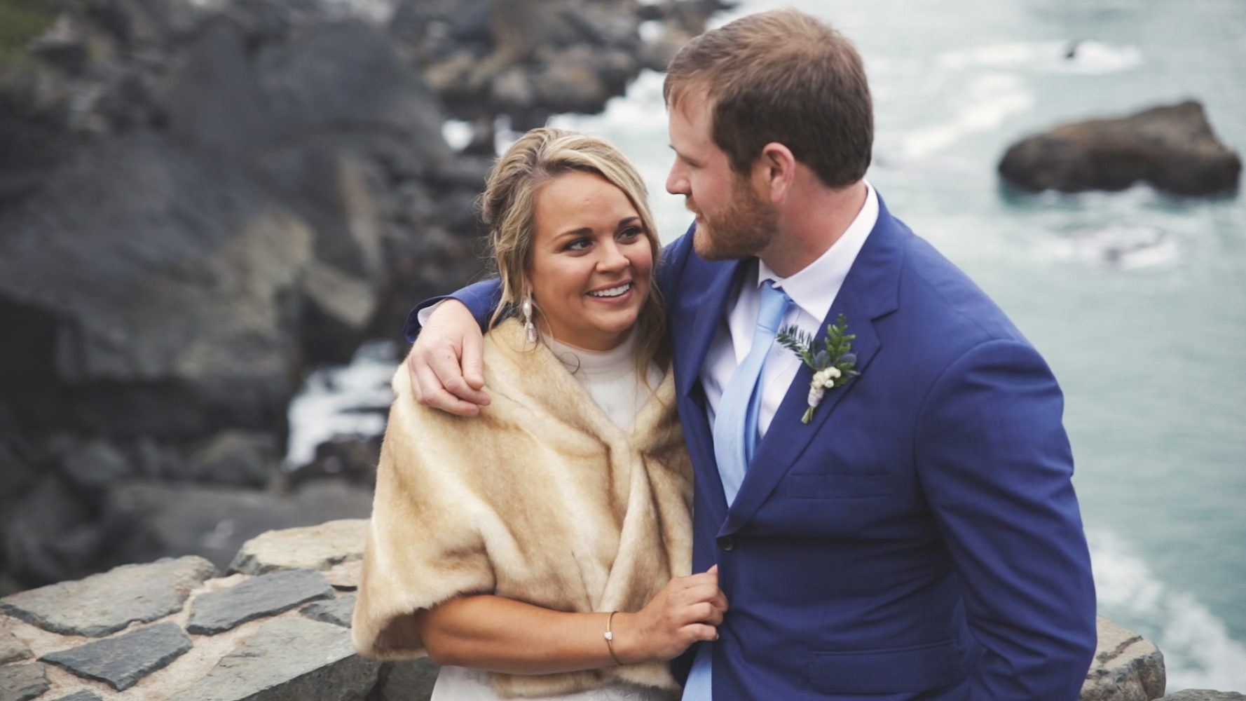 Virginia + Seth | Trinidad, California | The Redwoods