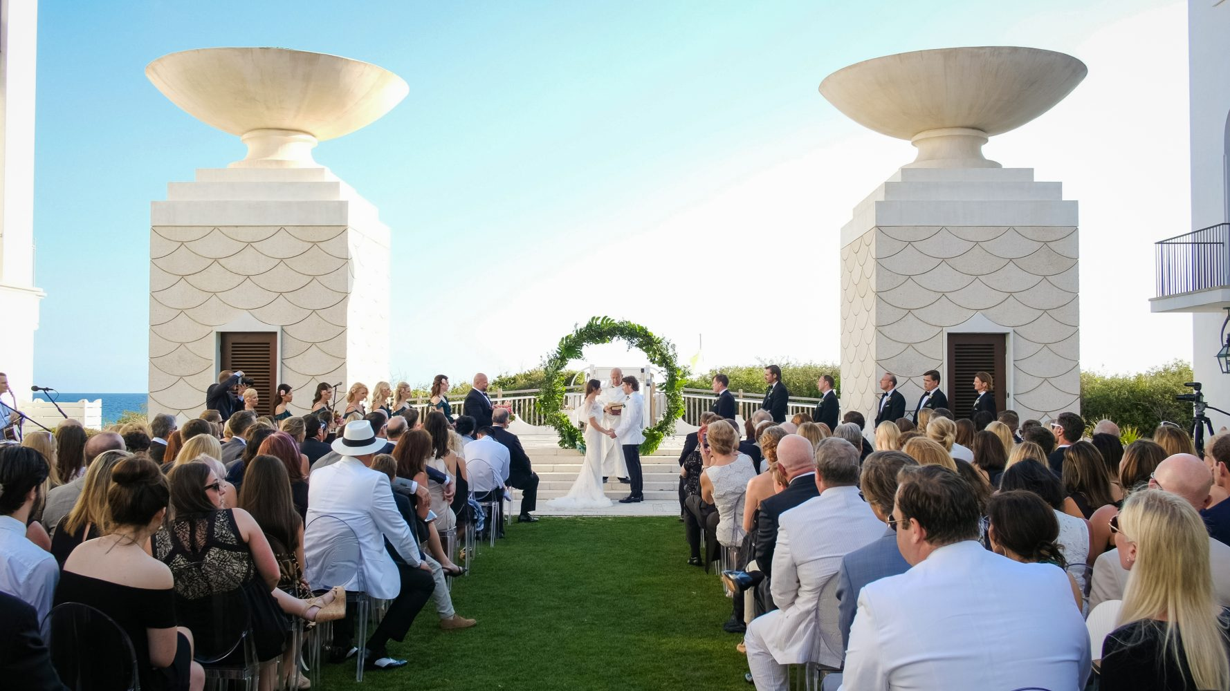 Christina + Brent | Alys Beach, Florida | Alys Beach Gulf Green
