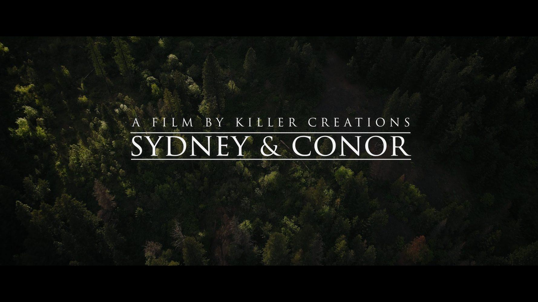 Sydney + Conor | Coeur d' Alene, Idaho | Camp Four Echoes