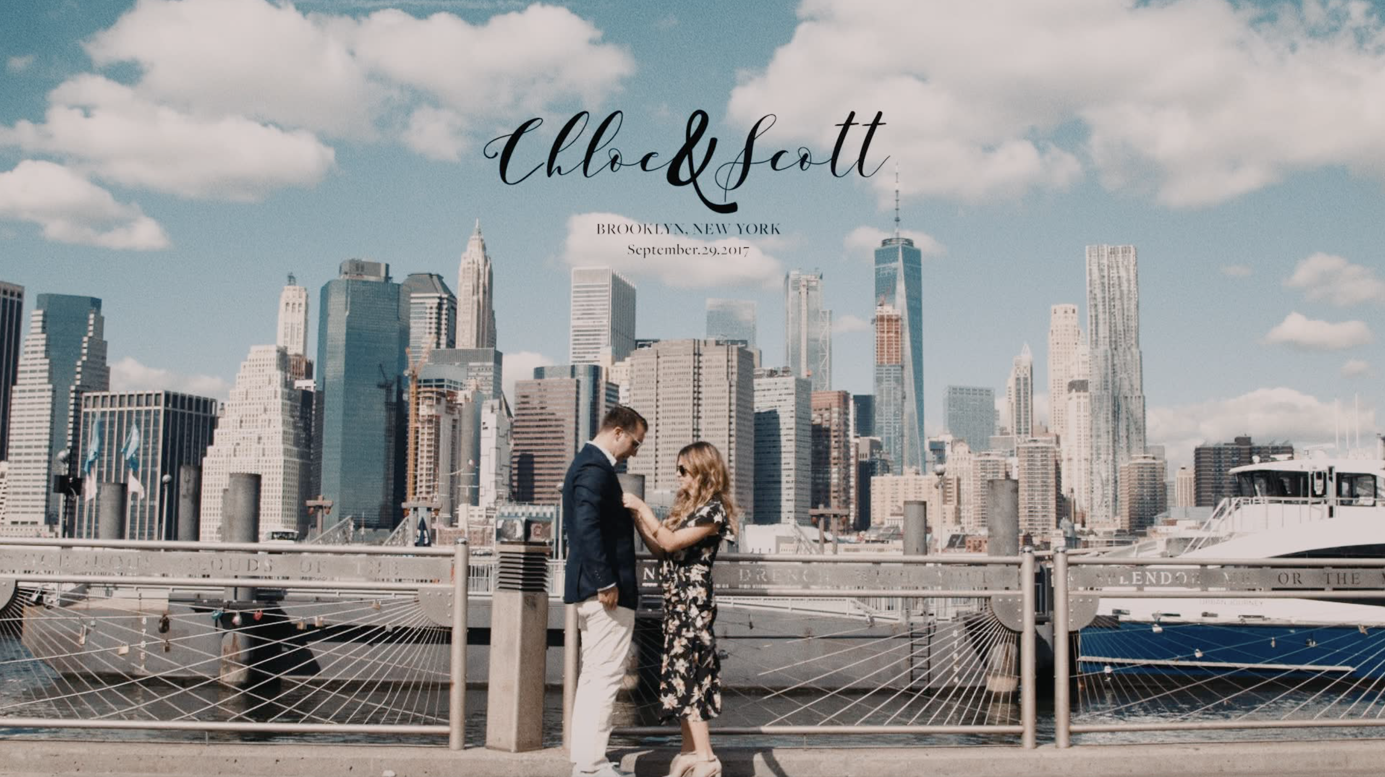 Chloe + Scott | Brooklyn, New York | Brooklyn Bridge