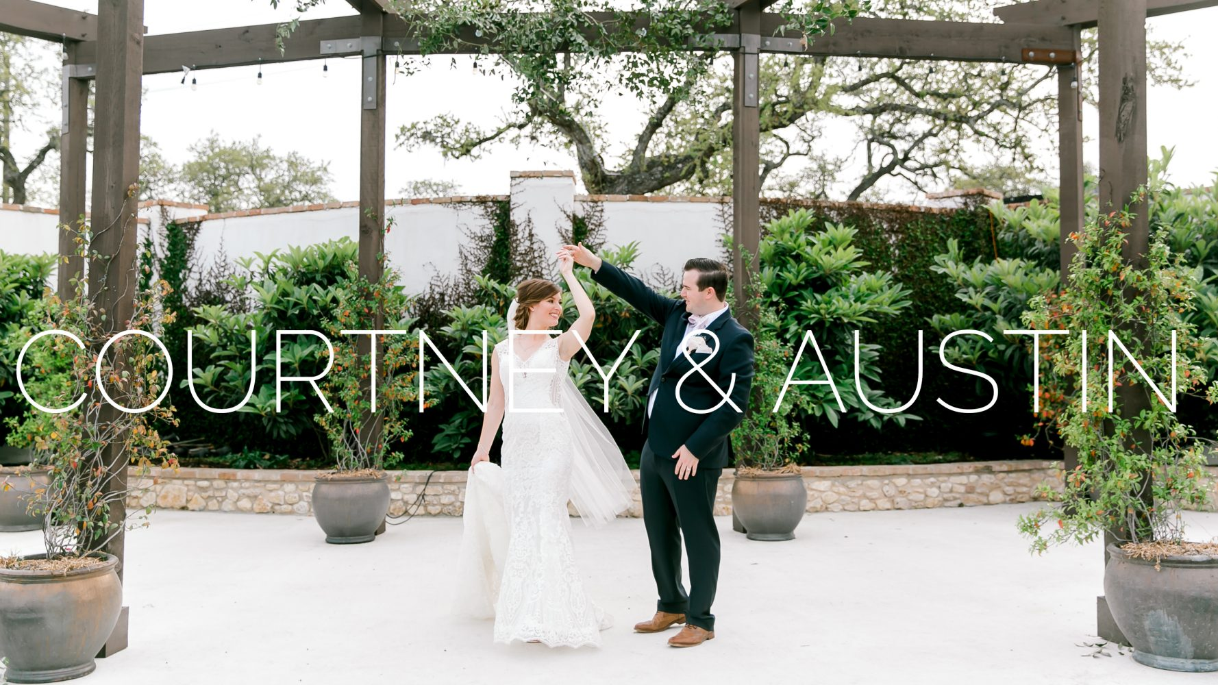 Courtney + Austin | Austin, Texas | Garden Grove Wedding and Event Venue