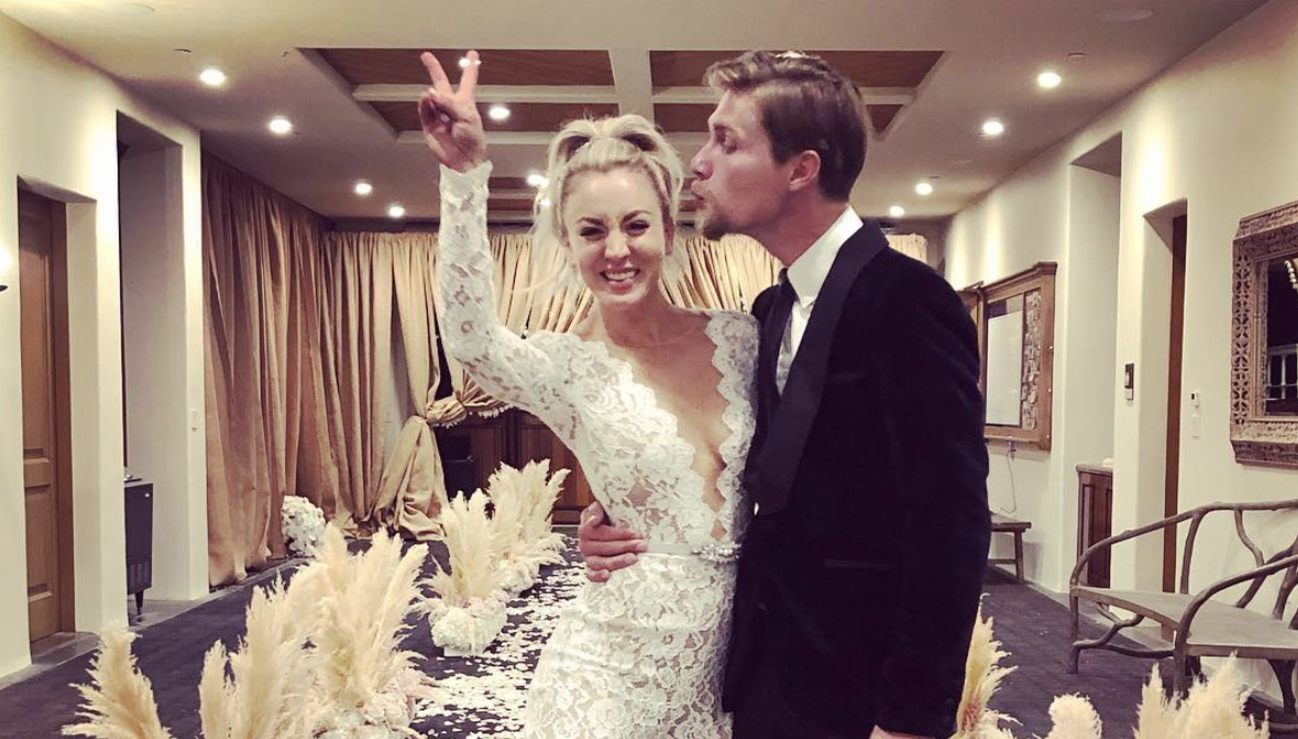 Sneak Peek: Kaley Cuoco's Wedding Video!