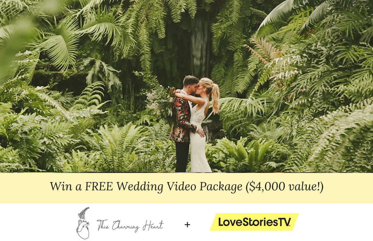 ENTER TO WIN A FREE WEDDING VIDEO — $4,000 Value!
