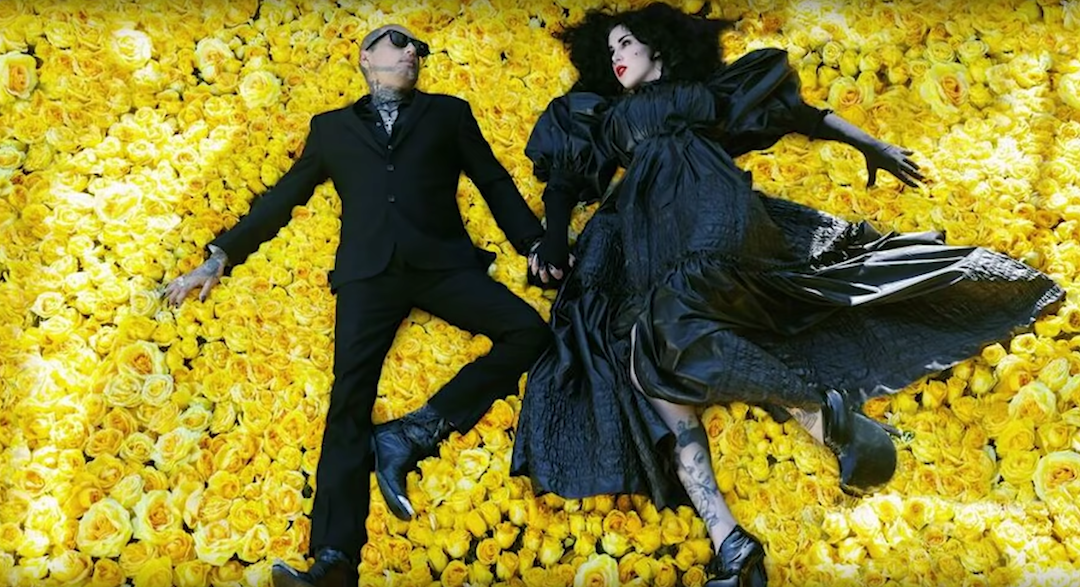 Kat Von D and Leafar Seyer's Gothic Wedding Video
