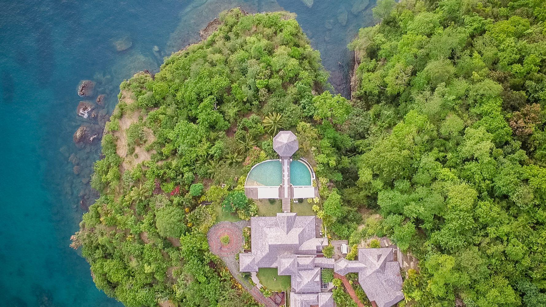 Jennifer + Shahe | Port St. Lucie, Saint Lucia | villa susanna