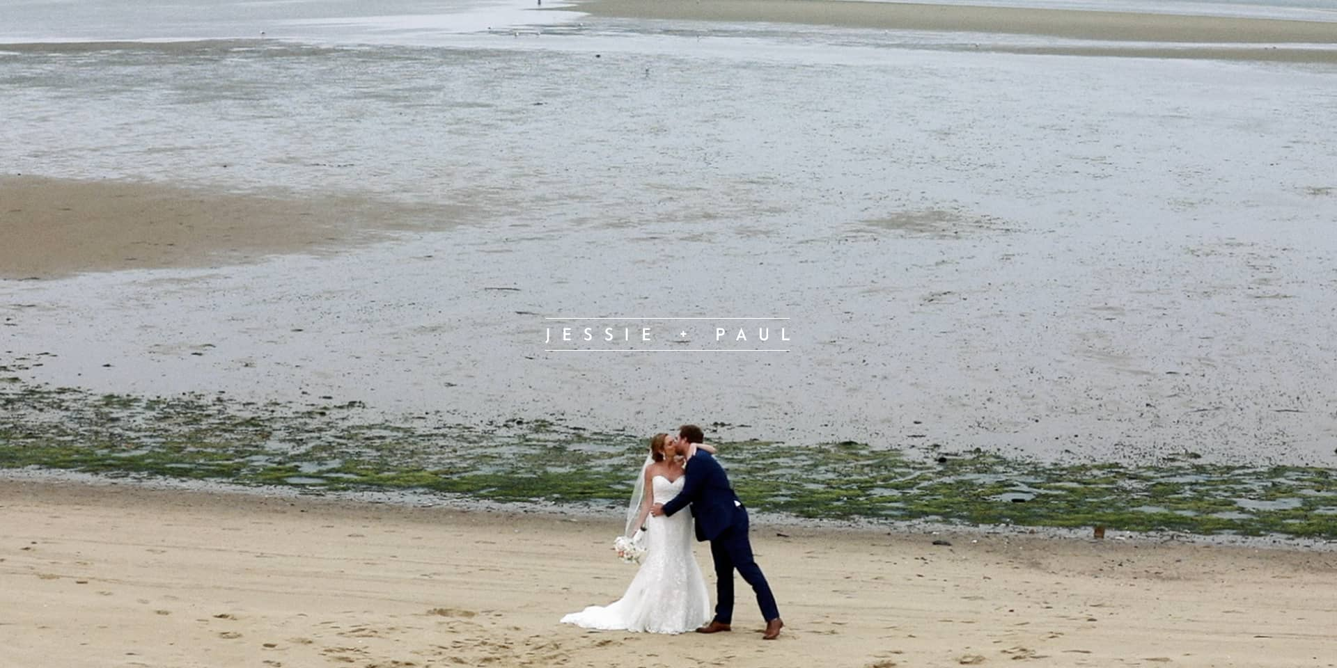 Jessie + Paul | North Eastham, Massachusetts | Groom's home