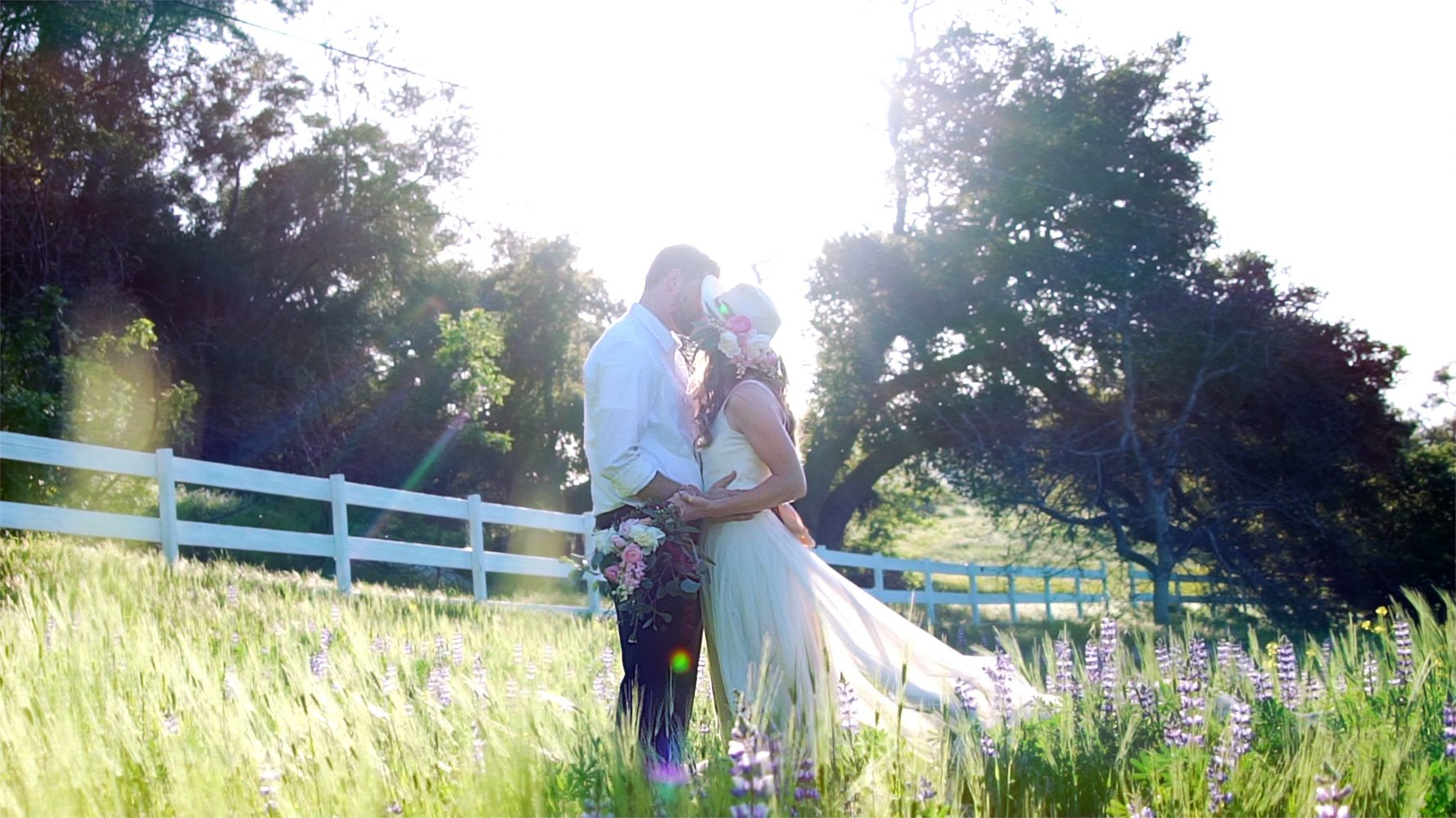 Claire  + Chris | Ojai , California | Black Walnut Ranch