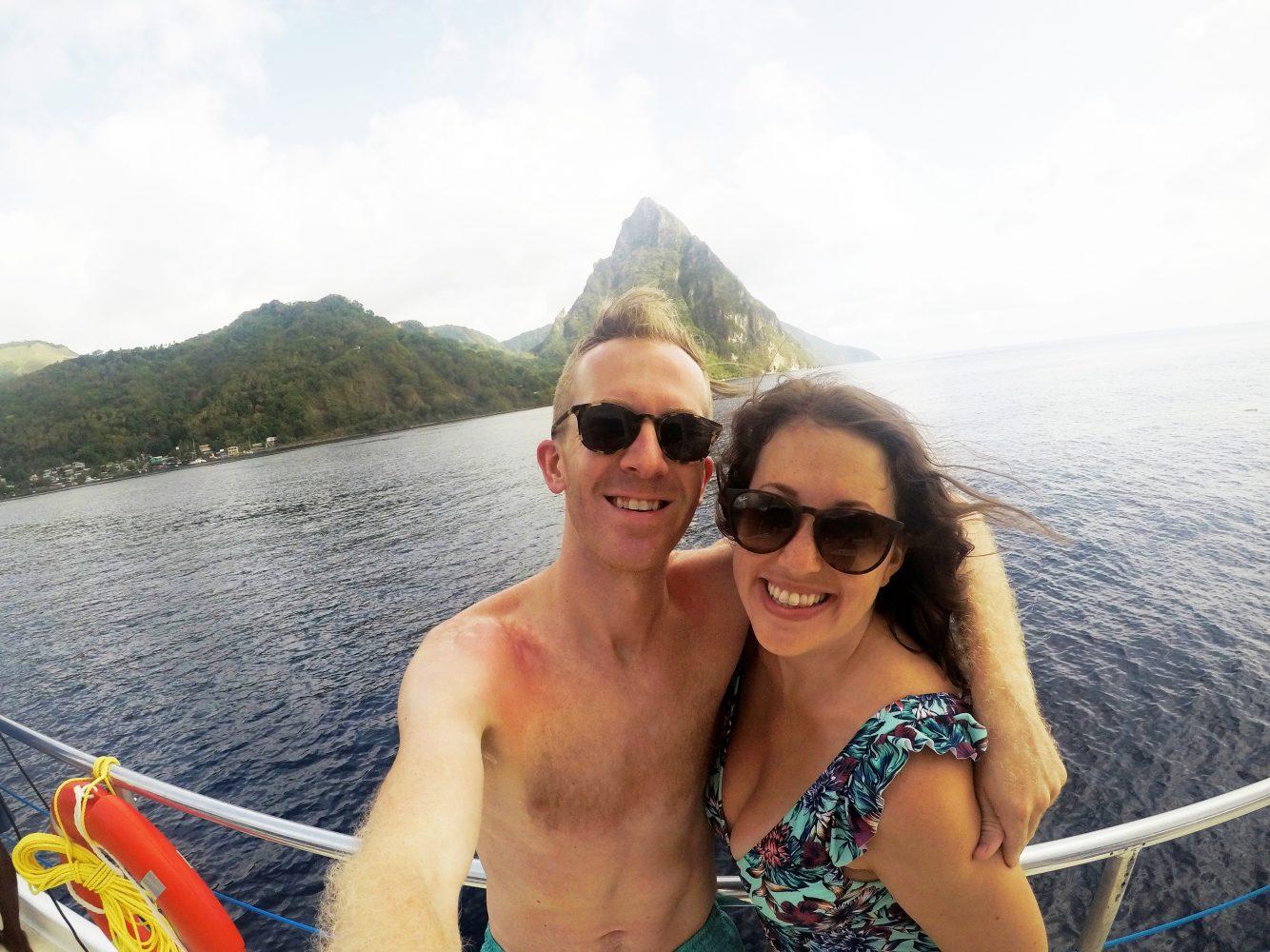 Sarah + Drew | La Toc Road, Saint Lucia | St. Lucia