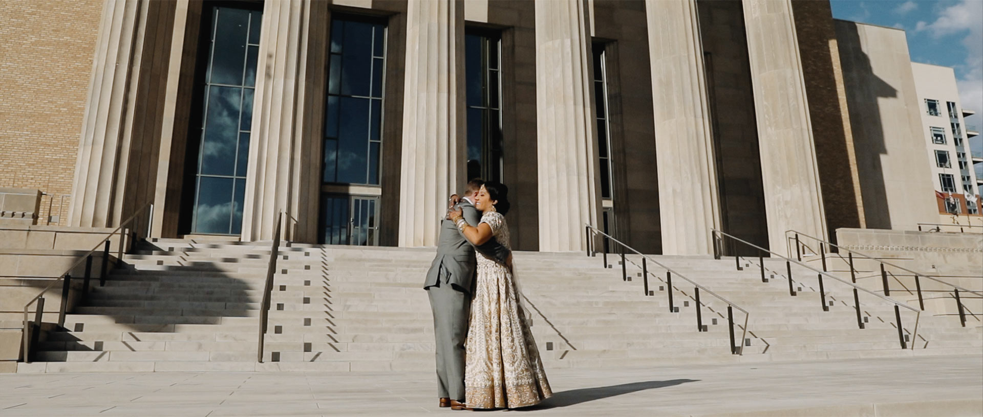 Jason + Rupal | Little Rock, Arkansas | Robinson Center