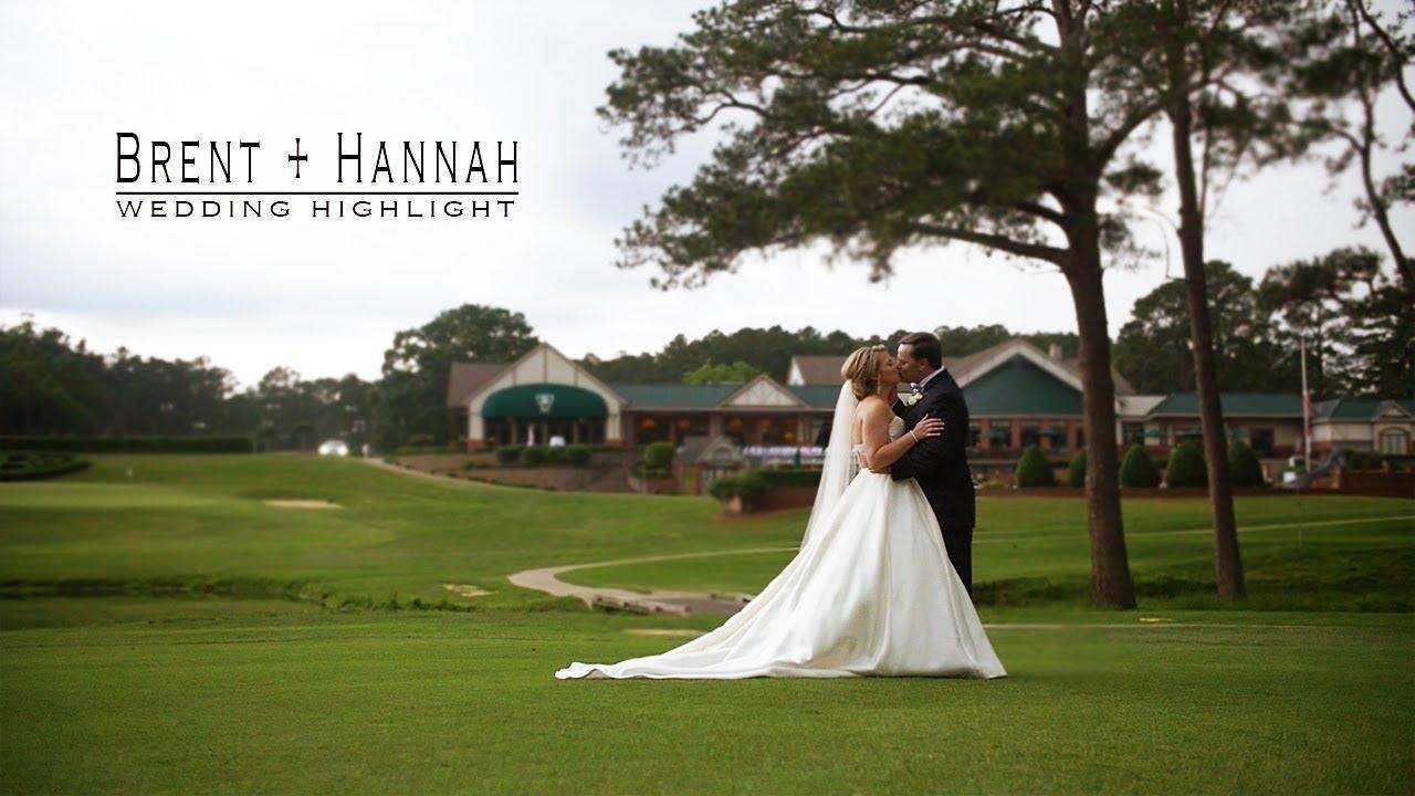 Hannah + Brent | Rocky Mount, North Carolina | Benvenue Country Club