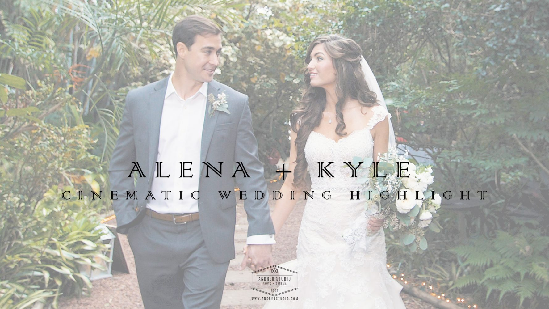 Alena + Kyle | Stuart, Florida, State | Tropical Ranch Botanical Garden
