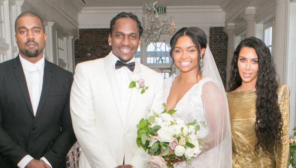 "Terrence ""Pusha T"" LeVarr + Virginia Williams Wedding Video (ft. cameos of Kim, Kanye, and Pharrell!)"