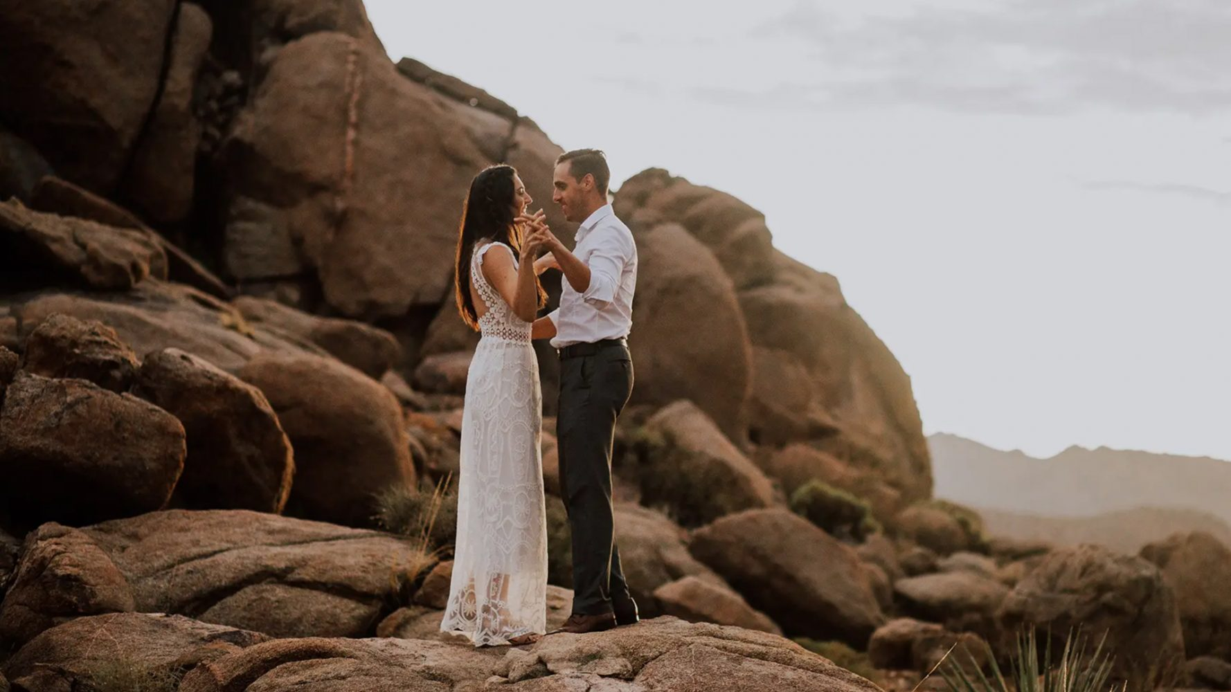 Lauren + Borja | Joshua Tree, California | Joshua Tree National Park