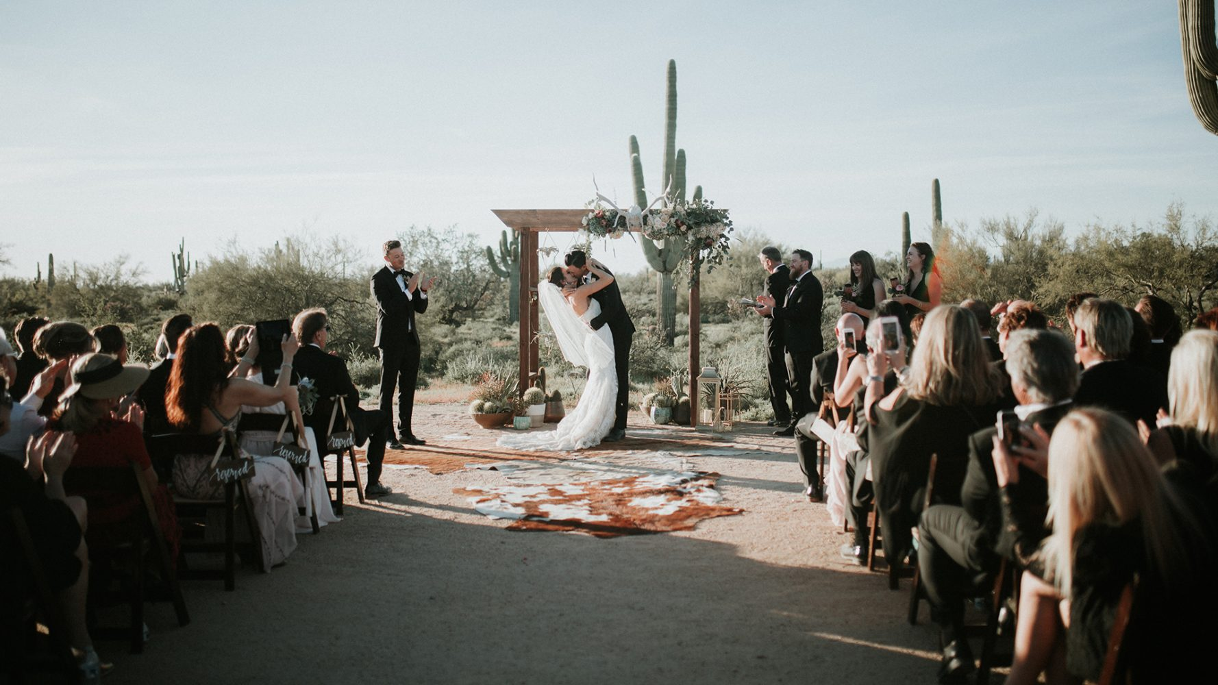 Jesse + Nick | Scottsdale, Arizona | Desert Foothills