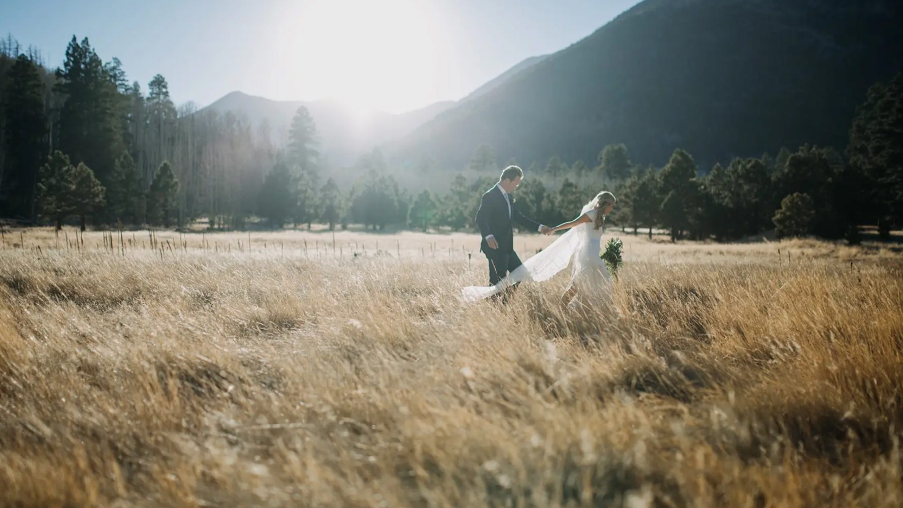 Amy + Justin | Flagstaff, Arizona | Lockett Meadow