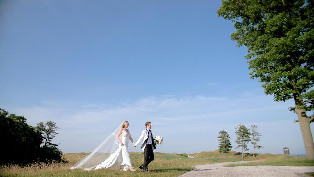 Mira + Kyle | Sheboygan, Wisconsin | Whistling Straits