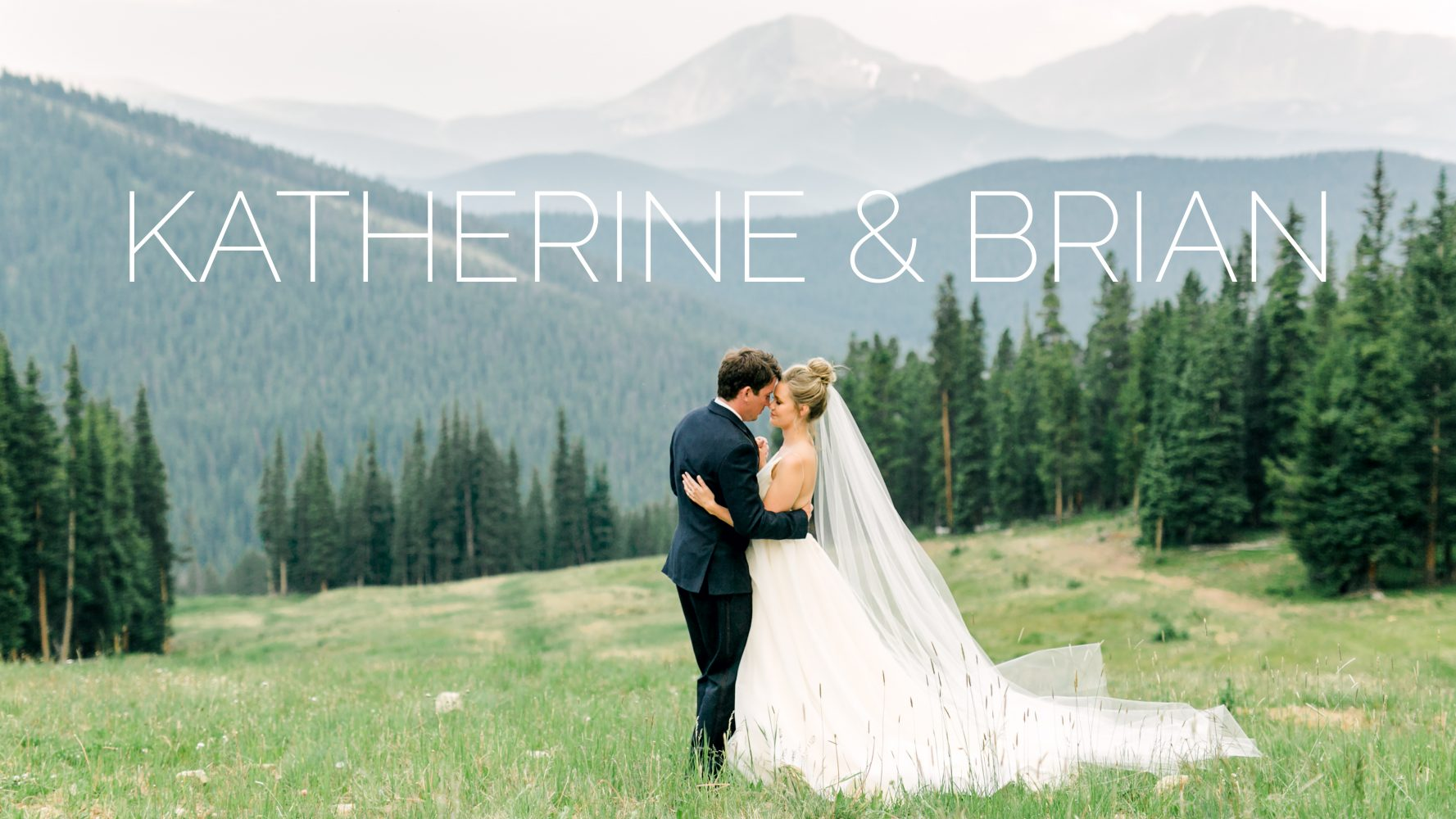 Katherine + Brian | Keystone, Colorado | Timber Ridge